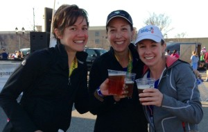 Free Beer: The real reason we paid money to run 13.1 miles.