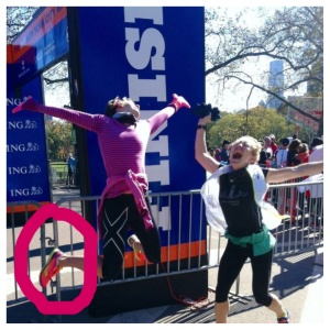 ...And also keeps me jumping for joy, even when the New York City Marathon gets cancelled.