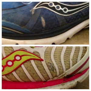 Here's hoping that the Kinvara 4's new upper will forever eradicate pinky toe poke-through.