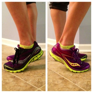 Loving the purple/ yellow K2 throwback! My all time favorite Kinvara color combo. (That's the K2 on the left & the K4 on the right.)