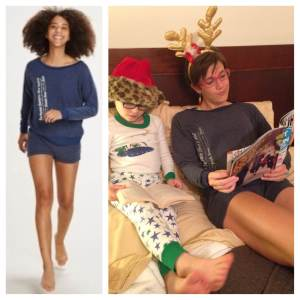 Oiselle's Podium Pajamas. Perfect for pre-race slumber parties, post-run chillaxing, and story time with your 8 year old BFF.