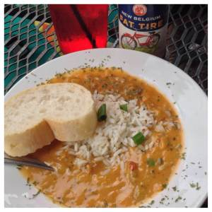 As you read on you will learn that you'll be making many stops on your fun run. What's on more for the bathroom? Crawfish ettouffee FTW!