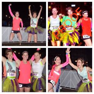 Just a few of my favorite pre-race photo shoot concepts: The jumping pic, the race bib faux-flash, victory arms, and the hyperbolicly enthusiastic high five.